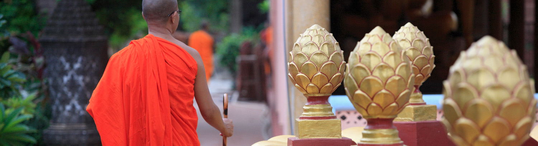 Asie, Cambodge, Siem Reap, temple Wat Preah Prom RathAsia, Cambodia, tourisme responsable tourisme solidaire écotourisme
