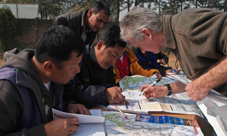 Accueil ATR - Népal - Formation de guide - Allibert - ©Laurence Fleury